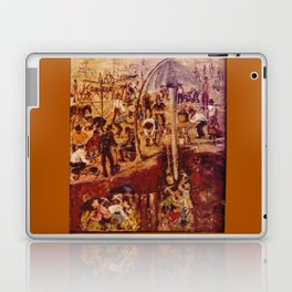 Gold Mining            by Kay Lipton Laptop & iPad Skin
