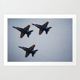 The Blue Angels Art Print