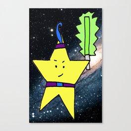 Star Warrior  Canvas Print