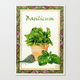 BASILICUM Canvas Print