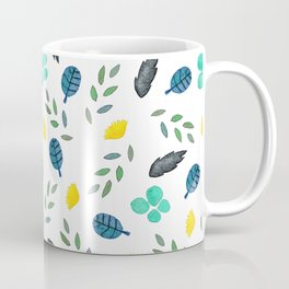 Fine summer floral naive pattern Coffee Mug