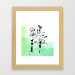 Milly Framed Art Print