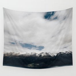 New Zealand Mountains Wall Tapestry