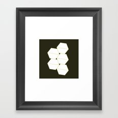 #325 Container – Geometry Daily Framed Art Print