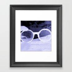 Glasses on the Horizon Framed Art Print