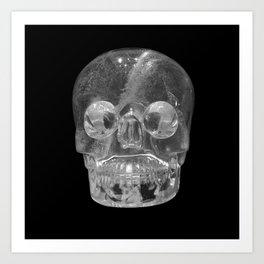 Crystal Skulls | Crystal Skull Museum Art Print