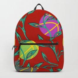 Basketball Flowers Backpack