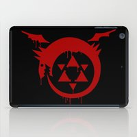 fullmetal iPad Cases featuring Ouroboros by KanaHyde