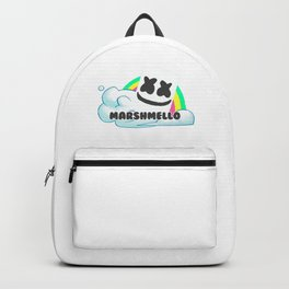 Rainbow marshmello Backpack