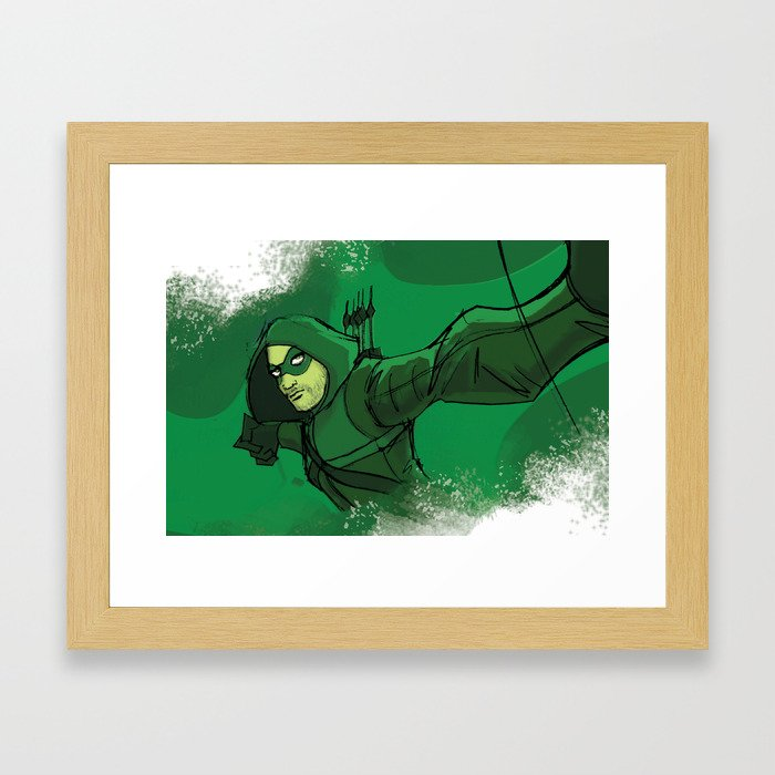 The Vigilante Framed Art Print
