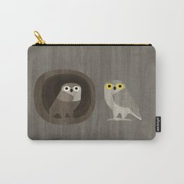 Two little owls Carry-All Pouch