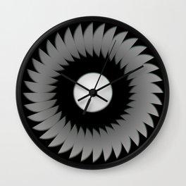 Moon Flower Wall Clock