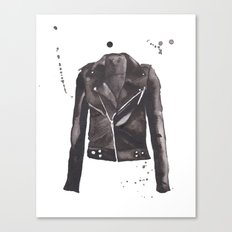 Motorcycle Jacket Canvas Print