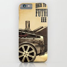 Back to the future III iPhone 6s Slim Case