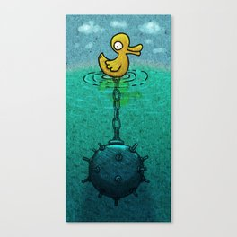 DuckBomb Canvas Print