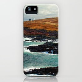 Lighthouse in Newfoundland iPhone Case