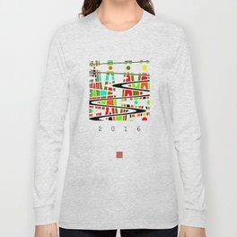wavy 3a Long Sleeve T-shirt