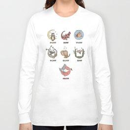 japanese week Long Sleeve T-shirt