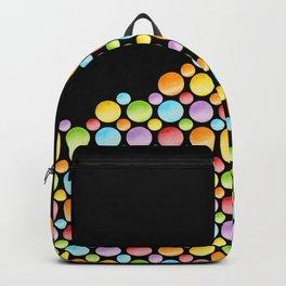 Rainbow Polka Dots Horizon Backpack