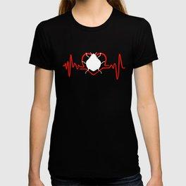 I Love Ladybugs Heartbeat T-shirt