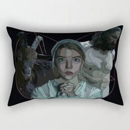 The Witch alternative poster Rectangular Pillow