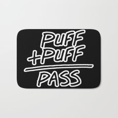 Puff + Puff = Pass Bath Mat
