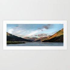 Autumn on the Loch Art Print