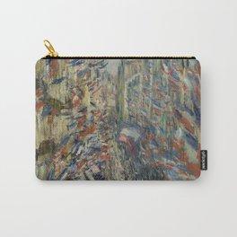 Claude Monet - The Rue Montorgueil In Paris. Celebration Of June 30 Carry-All Pouch