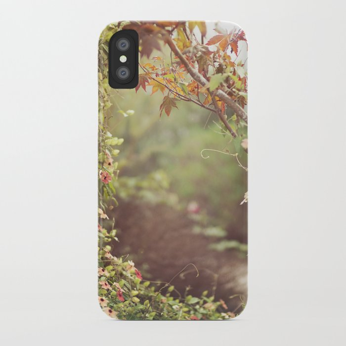 we were talking about the space between us iPhone Case