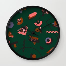 When you're in outer space Wall Clock