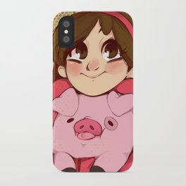 Mabel and Waddles iPhone Case