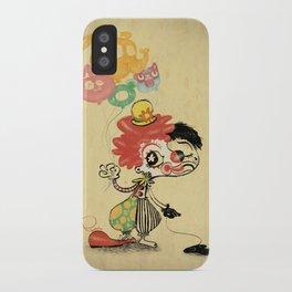 The Clown / Balloons / Facade iPhone Case