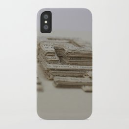 Book Art Maze iPhone Case