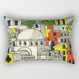 architectural fantasy_26 Rectangular Pillow