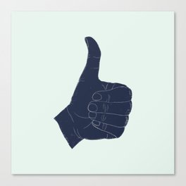 Thumbs Up Canvas Print
