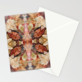 Leaf Mandala no 8 Stationery Cards