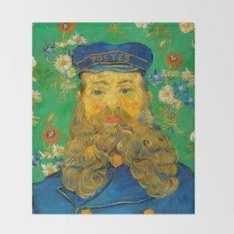 Portrait of Joseph Roulin Throw Blanket