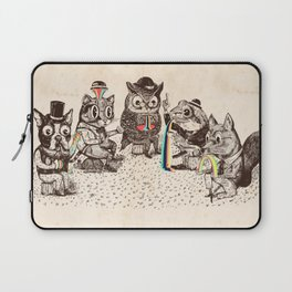 Strange Animals Laptop Sleeve