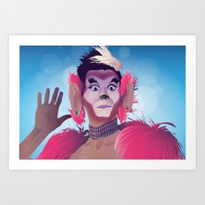 Manila Luzon (as Tweaker) Art Print