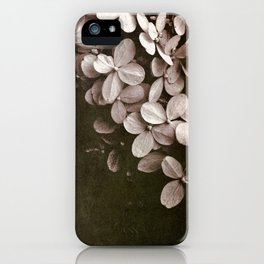 hydrangea too iPhone Case