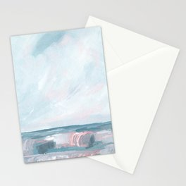 Perseverance - Stormy Sea Seascape Stationery Cards
