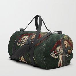 Cute mummy with crow Duffle Bag