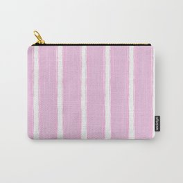 PINK LINES Abstract Art Carry-All Pouch