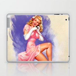 Vintage Lady Laptop & iPad Skin