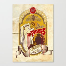 Dr. Phibes Locust Lager Canvas Print