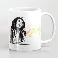 marley Mugs featuring Marley Stencil Work by L & T Designs