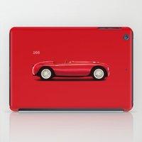ferrari iPad Cases featuring Ferrari 166 by Mark Rogan