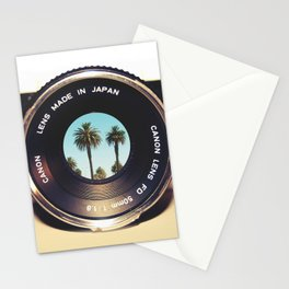focus on palms Stationery Cards
