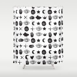 ICONOGRAPHY Shower Curtain
