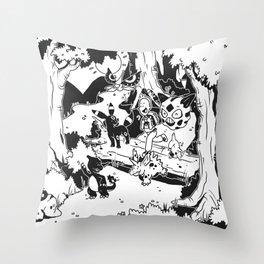 Pokelife Throw Pillow